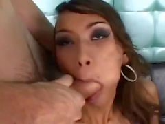 This slutty tgirl gets fucked in the ass