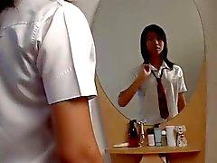Thai ladyboy Cherie solo.