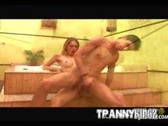 transex y chico
