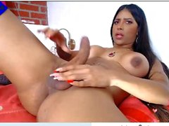 miss isa , new cumshow , huge load at the end