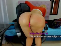 'Big butt Latina TS Ass POV Live on cam'