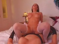Tranny Queen Bianca fucks Cindy Dollar