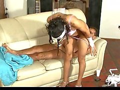 Nurse Tgirl is the best for a sick guy
