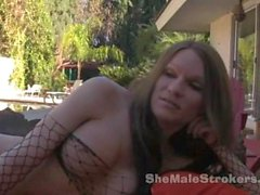 Kelly Shore Big Cock Shaved Shemale Strokers