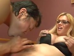 Asian Guy Discovers TS Blonde