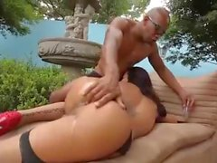 Shemale fuck by black cock