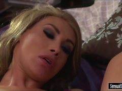 Big tits blond shemale Sunday Valentina fucked nasty dude