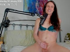 chatting and sex doll fucking 1-24-18 live recording