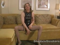 Tyra Scott Shemale Strokers 7 inches of hard She-Cock