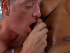 TS Honey Foxxx B Enjoys A Threesome