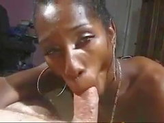 Tameka aka Briennie and mature guy share a good time