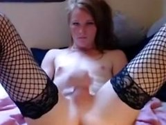 Solo Transsexual Toying amp Fisting His Ass